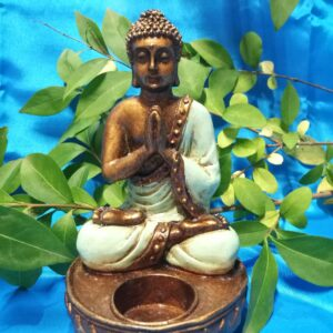 Bouddha candle menthe